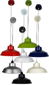 12 14 retro metal coolie lampshade ceiling light shade fitting with pendant