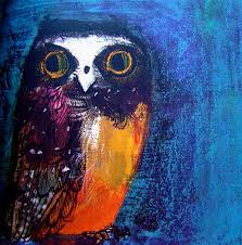 owl from birds by brian wildesmith 1967