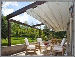 retractable patio awning diy