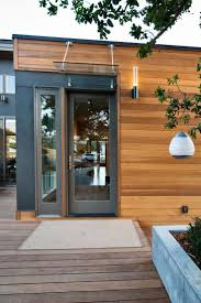glass front doors exterior doors contemporary wooden house with full glass door nad