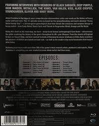 Heavy Metal Genealogy Chart Metal Evolution Blu Ray 2012 Amazon Co Uk Various
