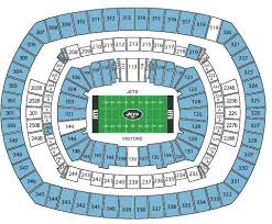 Royals Seating Chart With Rows Breakdown Of The Metlife Stadium Seating Chart New York