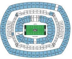 Giants Metlife Seating Chart Breakdown Of The Metlife Stadium Seating Chart New York