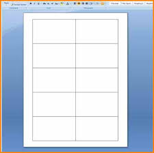 Ms Word Blank Business Card Template 15 Blank Business Card Template Microsoft Word Saint Connect
