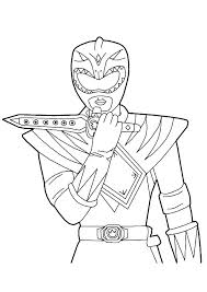 Power Rangers Megazord Coloring Pages Power Ranger Coloring Pages