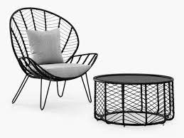 chevron garden furniture the furniture co