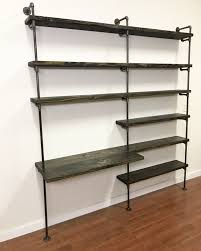 home office shelving units. Industrial Desk - Pipe Shelving Unit With Home Office Furniture Units E