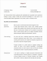 Curriculum Vitae Templates Free Download Awesome 68 Cv