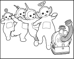 Small Picture Activity Teletubbies Printable Coloring Pages For Kids gJ4