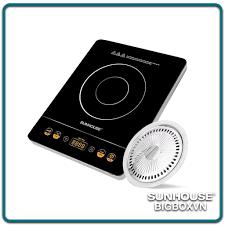 Bếp hồng ngoại cảm ứng SUNHOUSE SHD6020 ( Kèm vỉ nướng )