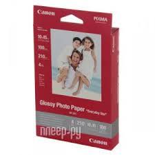 <b>Фотобумага</b> Canon GP-501 Everyday Use Glossy <b>210g</b>/<b>m2</b> 10x15 ...