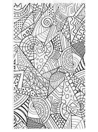 Coloring Pages Intricate Psubarstoolcom