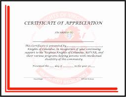 Certificate Of Appreciation Wording Best Of Achievement