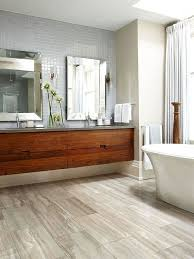Wood Floor Tile Bathroom Best Wood Tile Bathrooms Ideas On