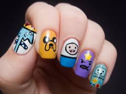 Cartoon Nail Art Designs Choice Image - Nail Art and Nail Design Ideas