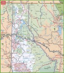 map of northern idaho