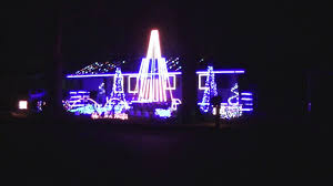 Auburn Football Christmas Lights 2016 Auburn Tigers Fight Song War Eagle Decatur Al Lights On Harrison Street