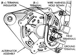 chrysler new yorker l bl cyl repair guides charging 10 engine wiring harness connectors for a common bosch alternator