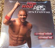 hip hop abs extreme dvd workout with shaun t by beach body excellent condition