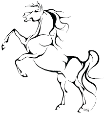 Horse Drawing Pages Free Download Best Horse Drawing Pages On