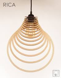 Contemporary Ceiling Light Shades Wooden Lamp Shade Wood Lamp Hanging Lamp Pendant Light