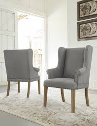 nailhead dining room chairs elegant velvet tufted dining chairs grey fabric room adorable design