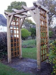 Small Picture Traditional Garden Oak Arch Anderson Oak Designs