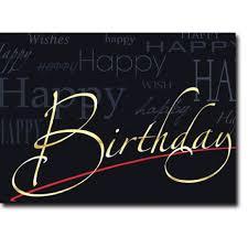 Happy Birthday Business Card Happy Birthday Corporate Card Hbcc 1135