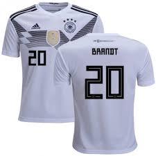Weiß Deutschland Fußball Kinder Shirt 20 Kaufen Brandt Julian Kurzarm Günstig Wm Heimtrikot 2018