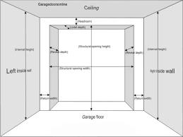 enjoyable double door width width of double garage door australia house design