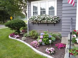 flower garden designs. Contemporary Small Flower Bed Ideas And Front Also Yard Beds Backyard . Garden Designs