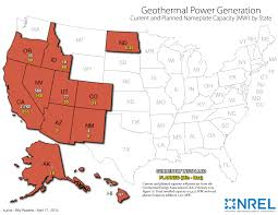 geothermal energy map. Delighful Map Screenshot Of NRELu0027s Map Installed Geothermal Power Capacity In Each  US State As February And Geothermal Energy Map E