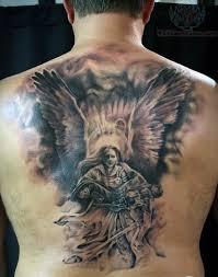 75 Pozoruhodný Andělský Tetování Pro Muže Inkoustové Nápady S Křídly