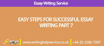% off easy steps for successful essay writing part  easy steps for successful essay writing part 7