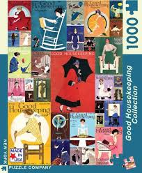 good housekeeping collage jigsaw puzzle 1000 pieces independent women collage and puzzle 1000