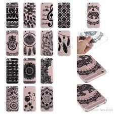 Dream Catcher Case Iphone 7 Plus Flower Henna Paisley Soft Tpu Case For Iphone X100100100 Plus 34