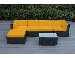 Image Yard Image Unavailable Amazoncom Amazoncom Ohana 6piece Outdoor Patio Furniture Sectional