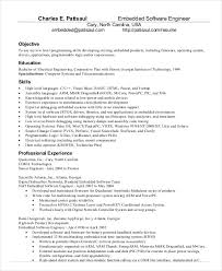 Software Engineer Resume Template Word Software Engineer Resume