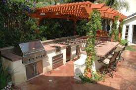 Diy Outdoor Kitchen Frames 3alhkecom A Beautiful Patio Design As Outdoor Kitchen Plans Which