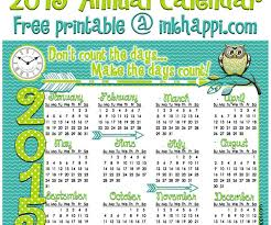 Annual Calendar 2015 Calendar Archives Page 8 Of 10 Inkhappi