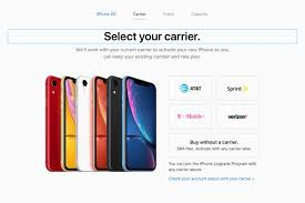 iphone xr no carrier apple