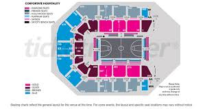 Frontier Park Seating Chart Spark Arena Seating Plan