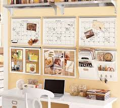 enticing wall organizer system for home office to make spirit captivating three white colored schedule