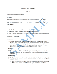 Permalink to Joint Venture Agreement Format In Word : Joint Venture Agreement Free Template Sample Lawpath : In a joint venture agreement, you'll define your business purposes and the contribution of each group.