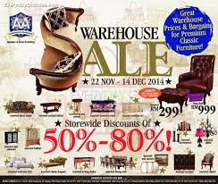 American Accents Warehouse Sale for Furniture Clearance