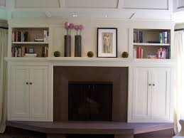 custom made arts and crafts style built in cabinets