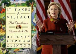 it takes a village the por non fiction book written by hillary clinton was first published in 1996