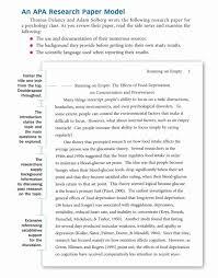 10 Apa Research Paper Far Wake