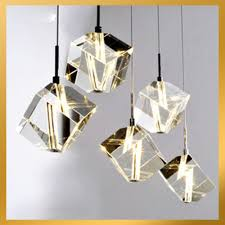 stunning faux crystal chandelier 32 lights cubic light pendant black with crystals lamp ceiling fixture hanging lighting fixtures led luxury modern