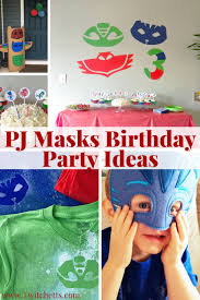 Pj Mask Party Decoration Ideas PJ Masks Birthday Party Ideas Roundup Twitchetts 87